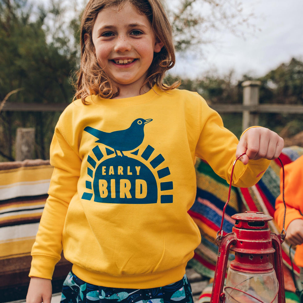 Early Bird Kids Sweatshirt
