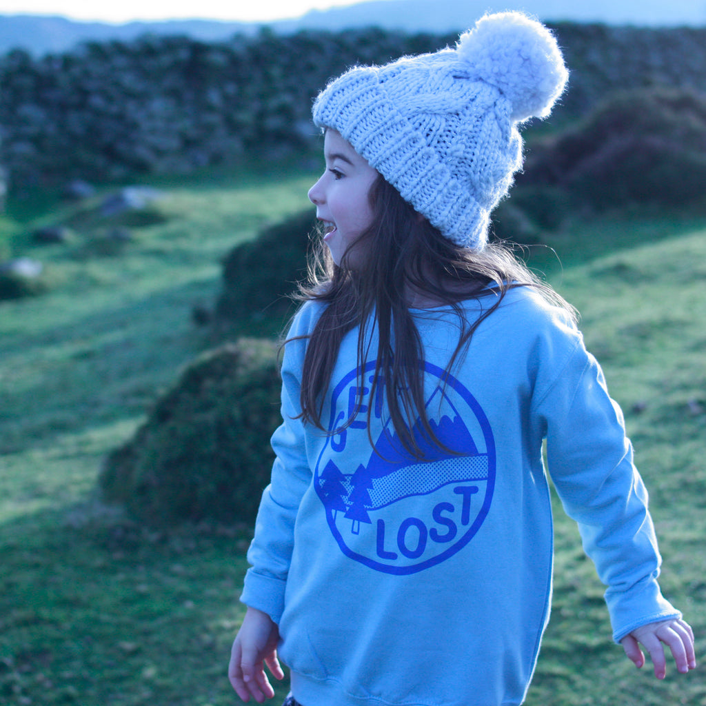 Get Lost Kids Sweatshirt