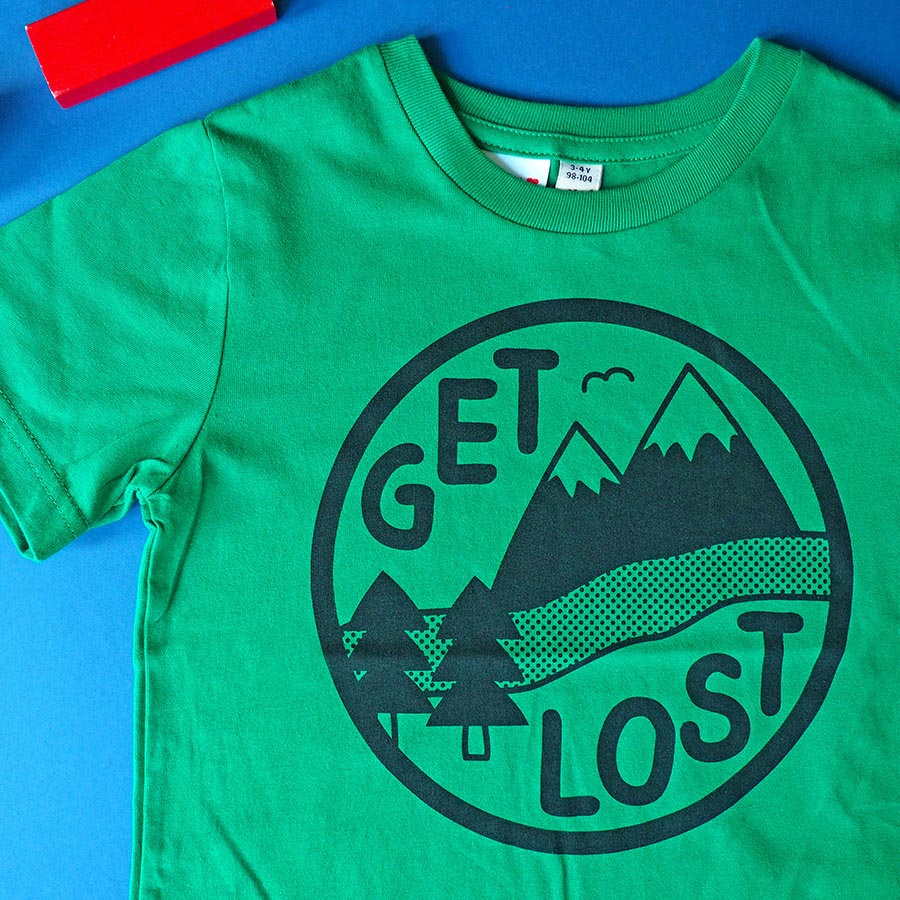 Get Lost Kids T-shirt - hello DODO