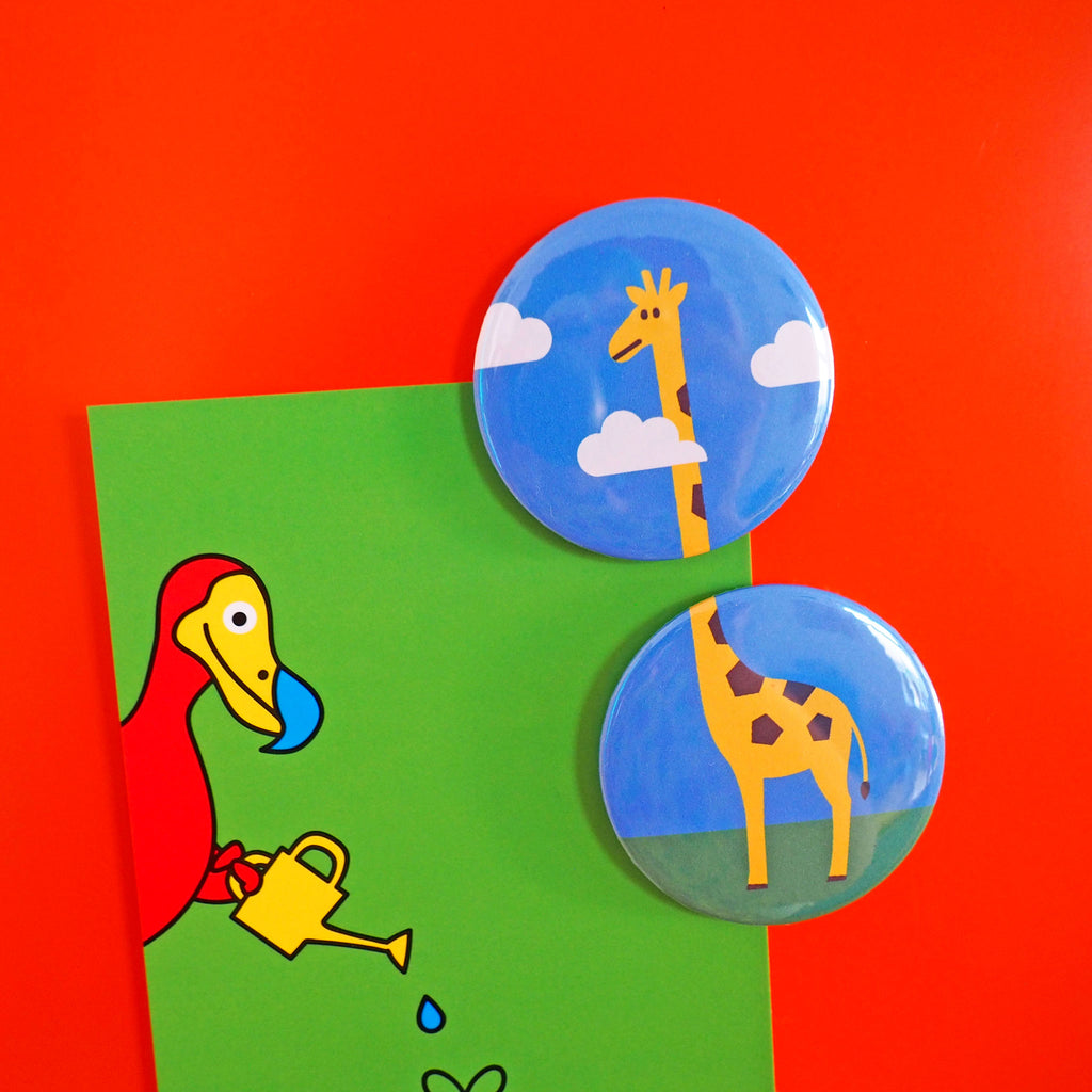 Giraffe Fridge Magnet Set - hello DODO