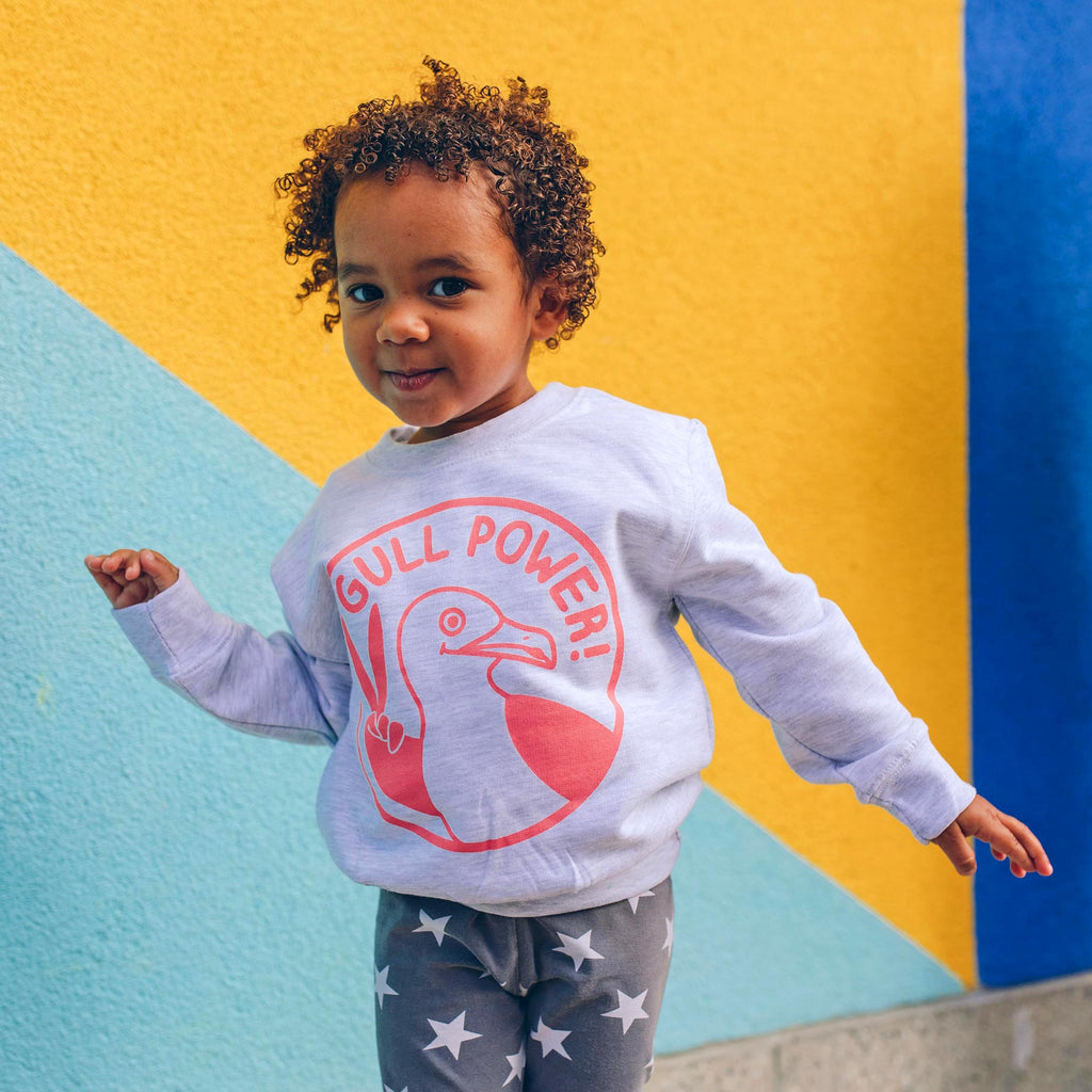 Gull Power Kids Sweatshirt - hello DODO