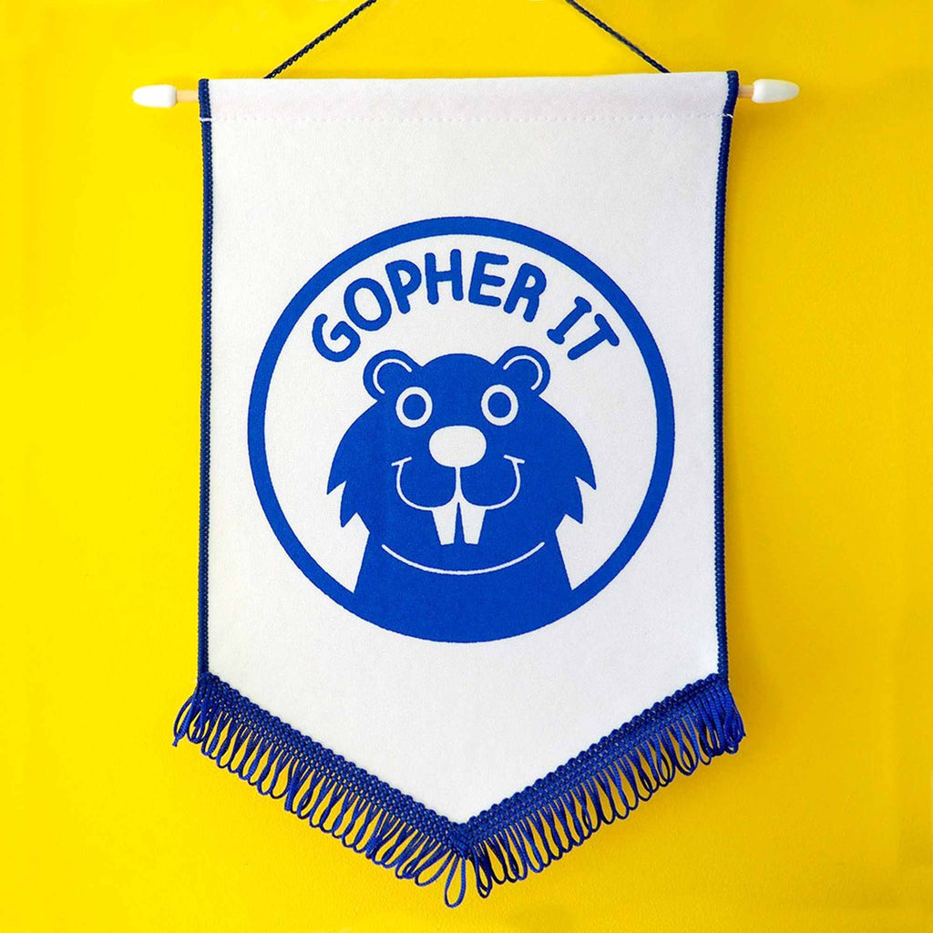 Gopher It Pennant Flag - hello DODO