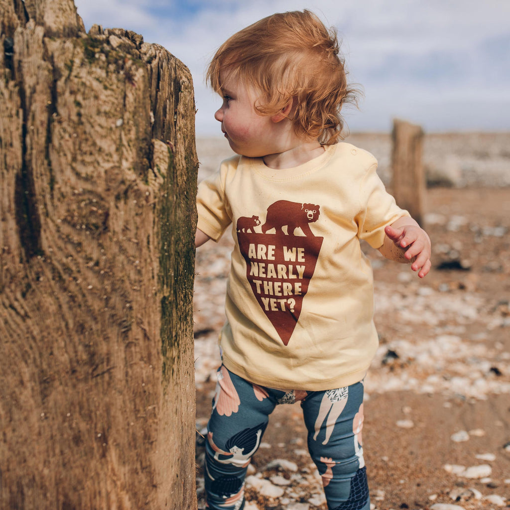 Are We Nearly There Yet Baby T-shirt
