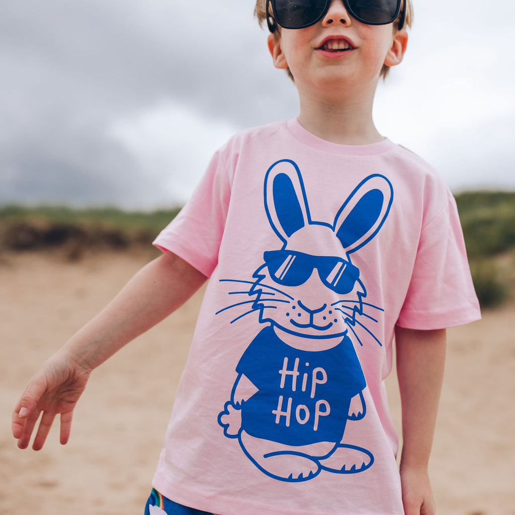 Hip Hop Bunny Kids T-shirt - hello DODO