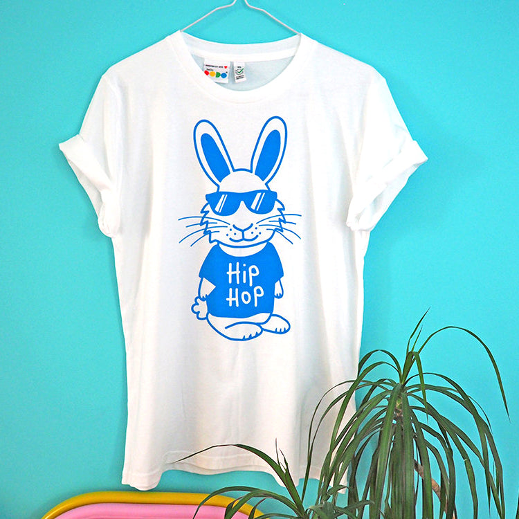 Hip Hop Rabbit Unisex T-shirt - hello DODO