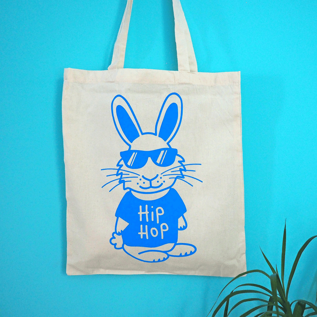 Hip Hop Tote Bag - hello DODO