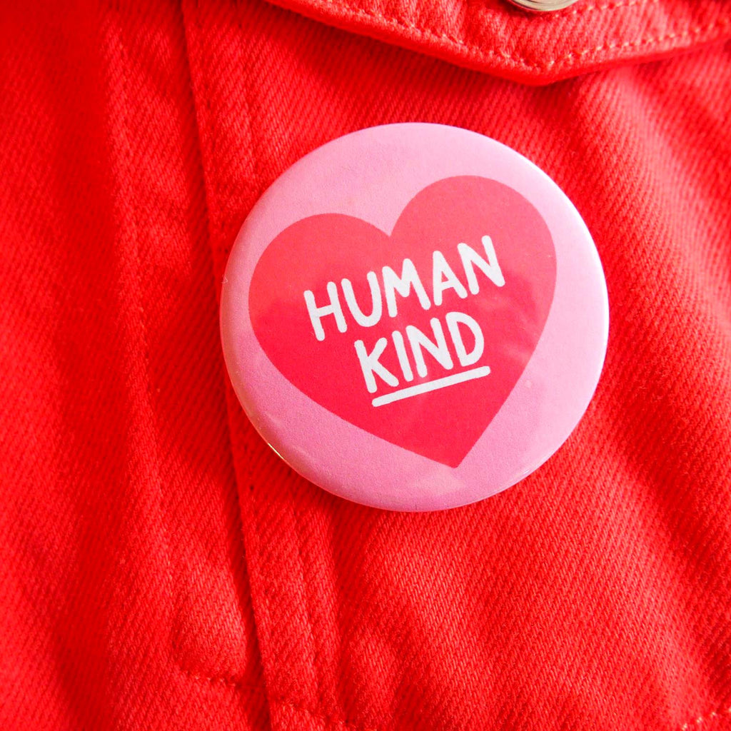Human Kind Badge - hello DODO
