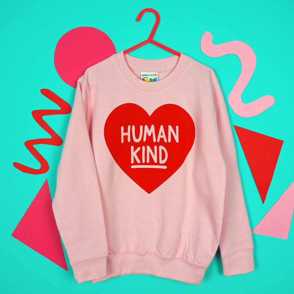 Human Kind Kids Sweatshirt - hello DODO