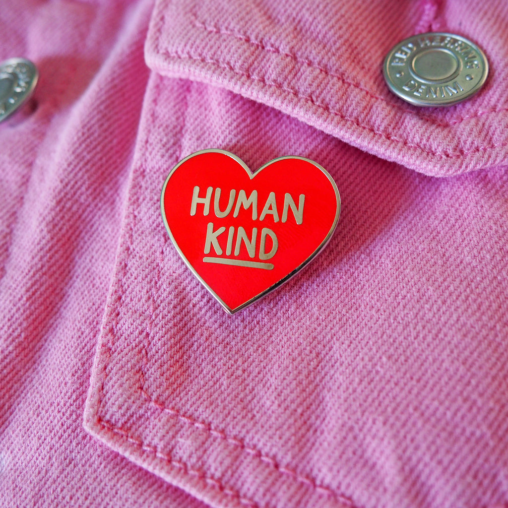 Human Kind Enamel Pin - hello DODO