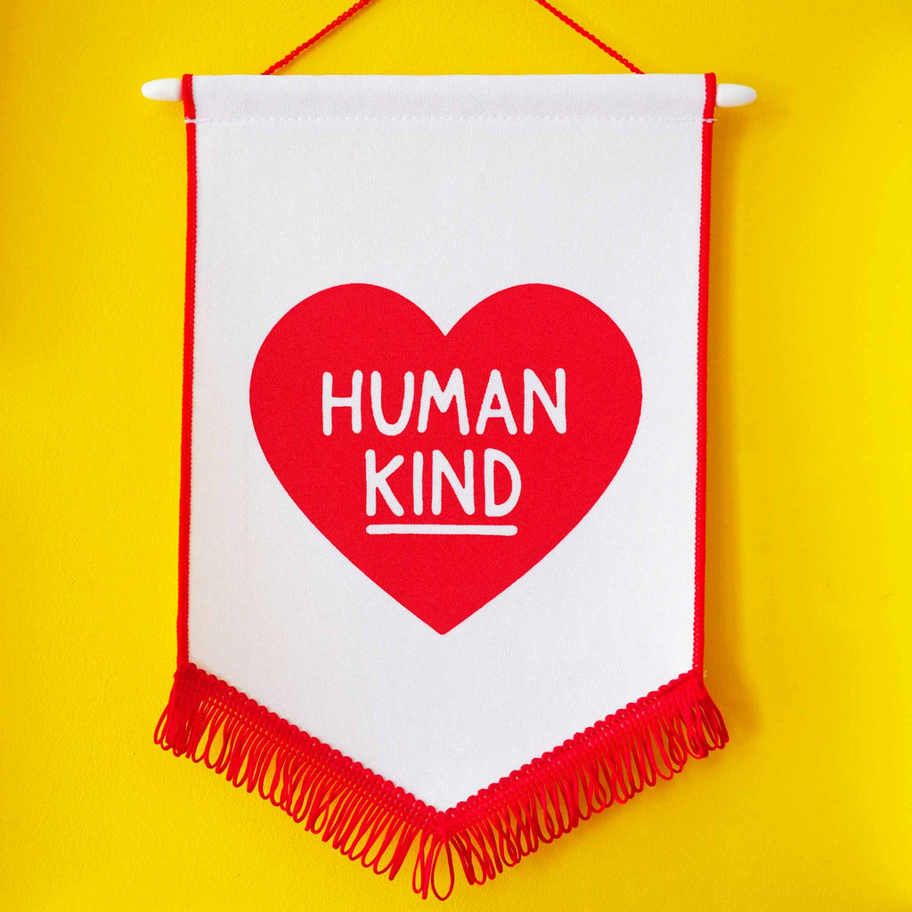Human Kind Pennant Flag - hello DODO