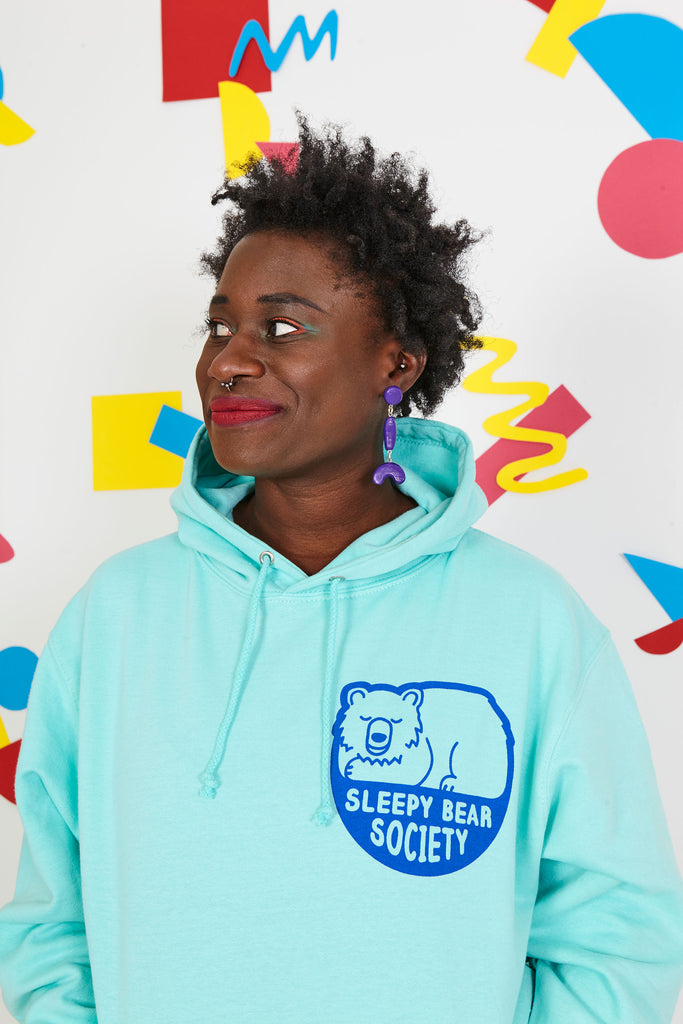 Sleepy Bear Society Unisex Hoodie - hello DODO