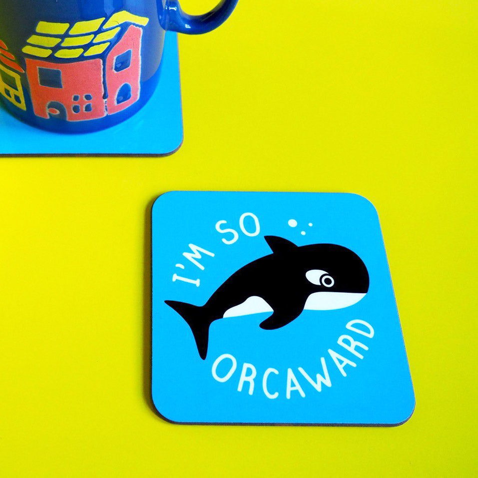 I'm So Orcaward Coaster - hello DODO