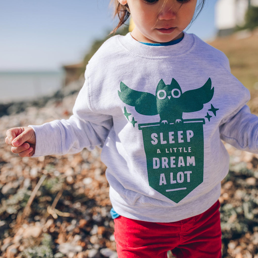 Sleep a Little Dream A Lot Kids Sweatshirt