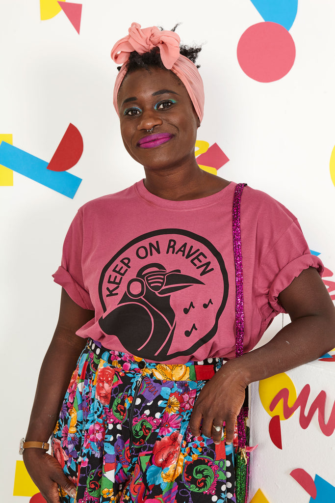 Keep On Raven Berry Unisex T-shirt - hello DODO