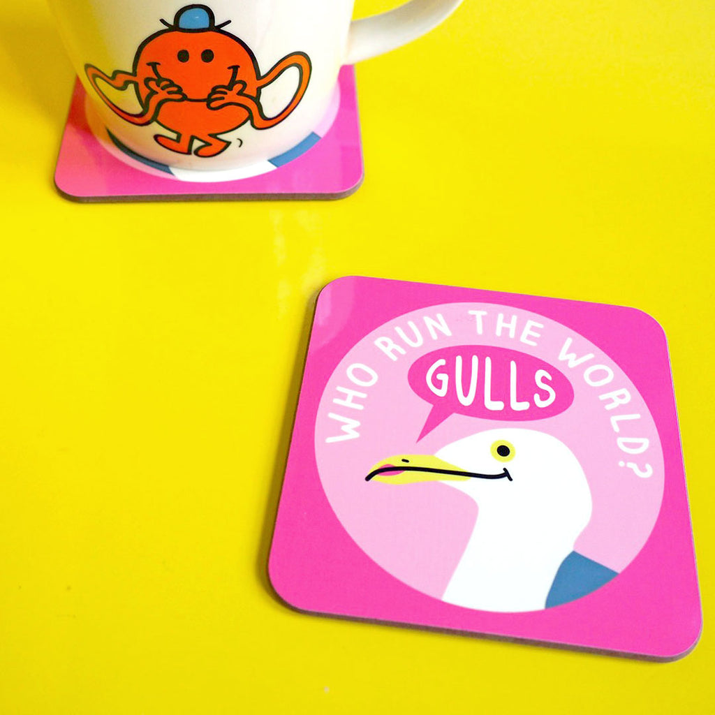Who Run The World Gulls Coaster - hello DODO