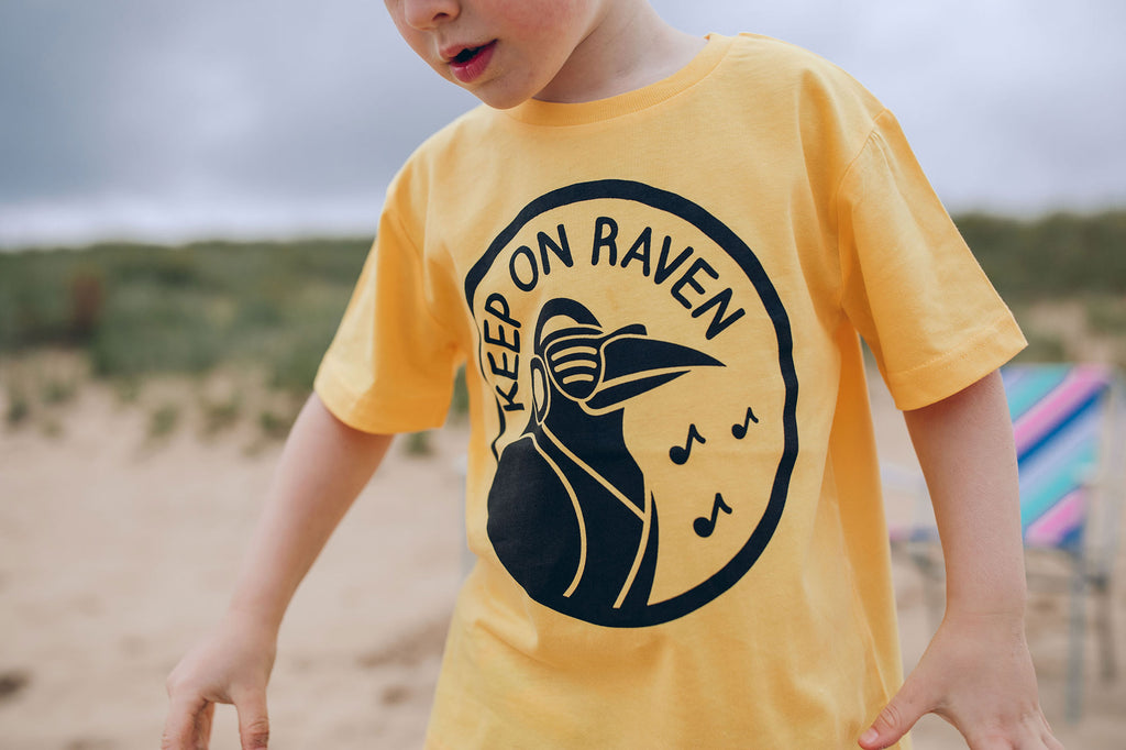 Keep On Raven Kids T-shirt - hello DODO