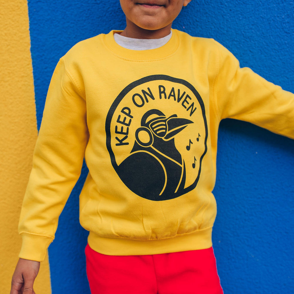 Keep On Raven Kids Sweatshirt - hello DODO