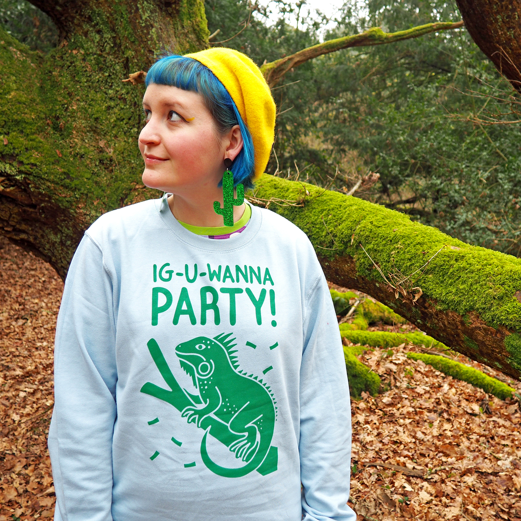 Ig-u-Wanna Party Unisex Sweatshirt - hello DODO