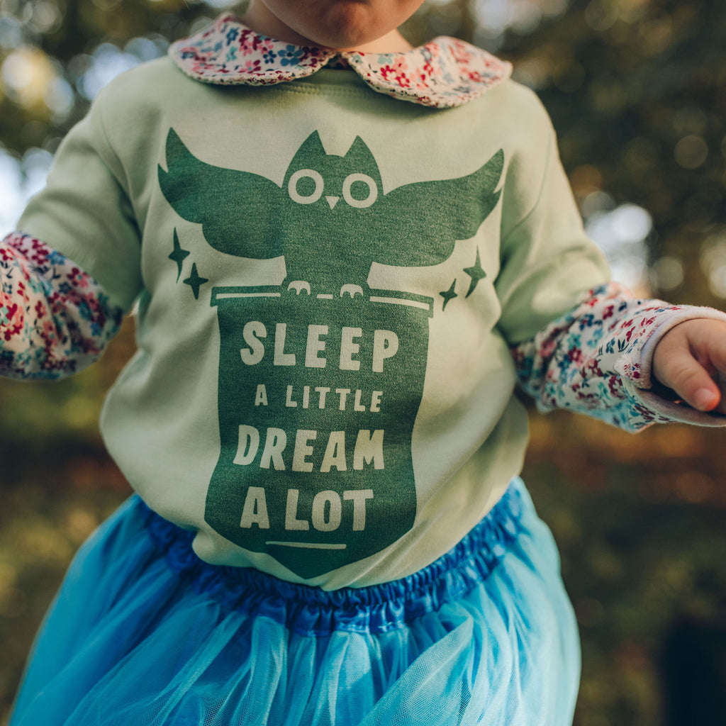 Sleep a Little Dream a Lot Baby T-shirt