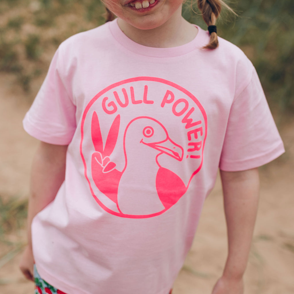 Gull Power Kids T-shirt - hello DODO