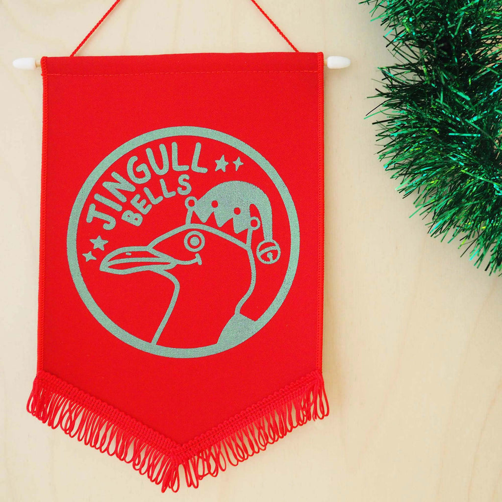 Jingull Bells Christmas Pennant Decoration