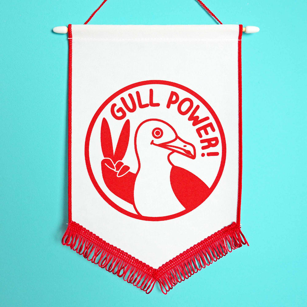 Gull Power Pennant Flag - hello DODO
