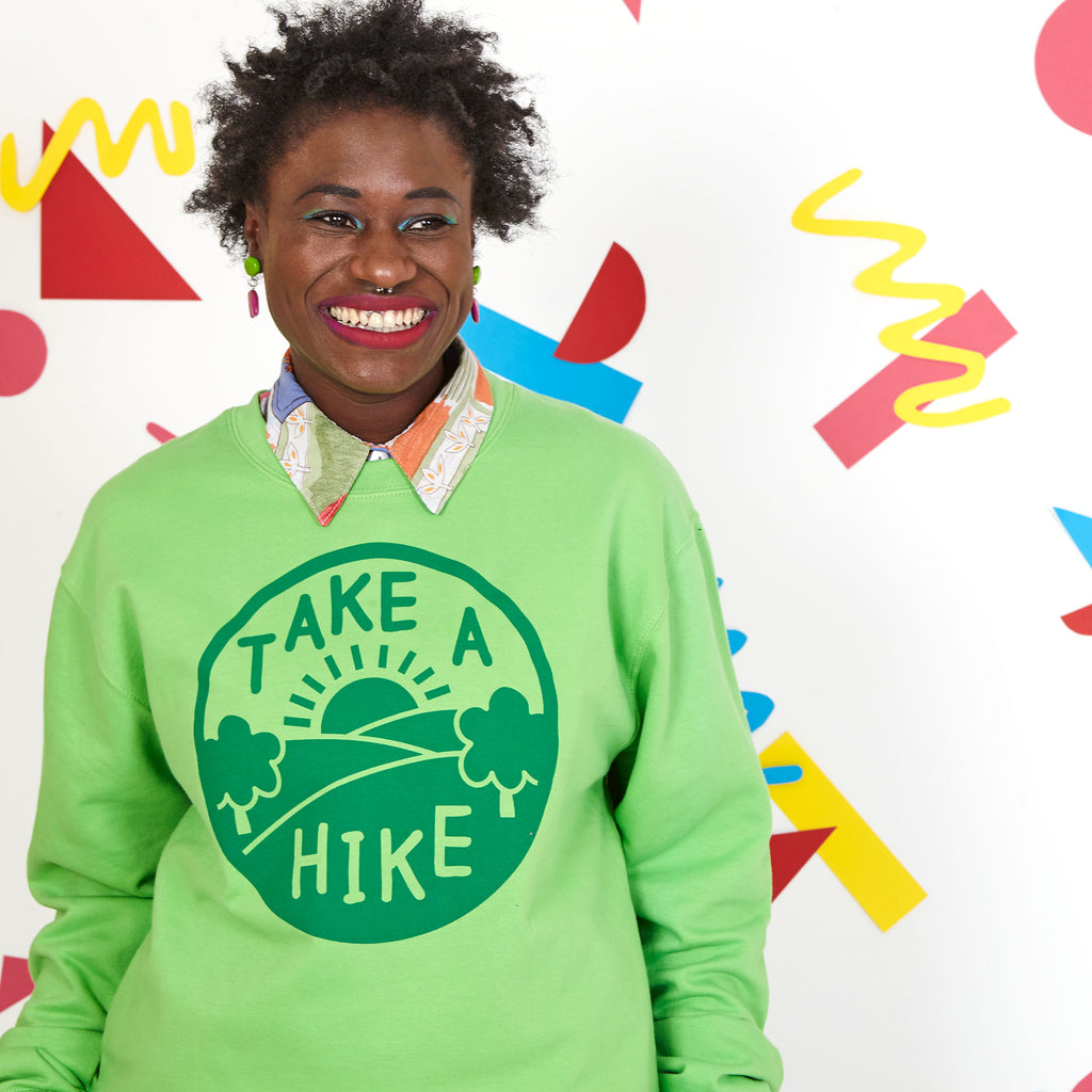 Take a Hike Unisex Sweatshirt - hello DODO