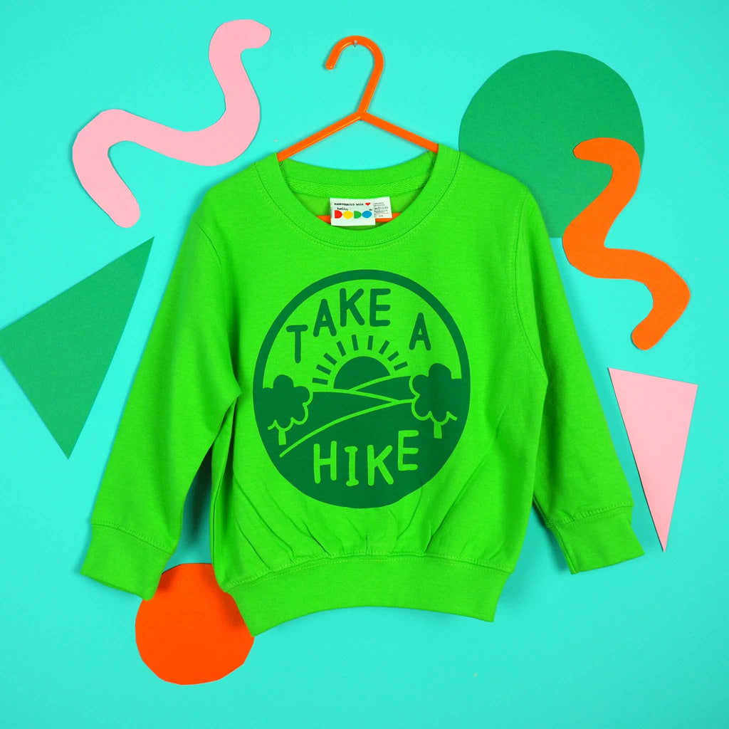 Take a Hike Kids Sweatshirt - hello DODO