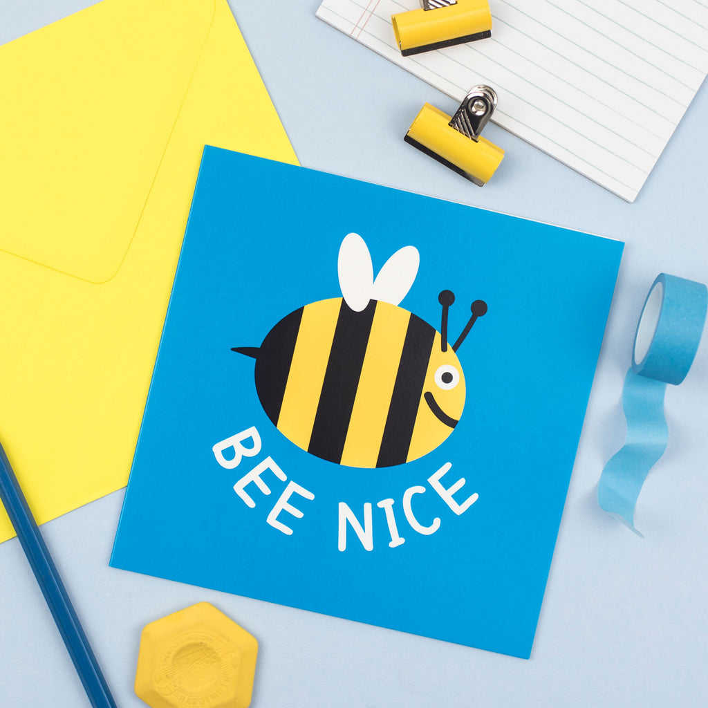 Bee Nice Card - hello DODO