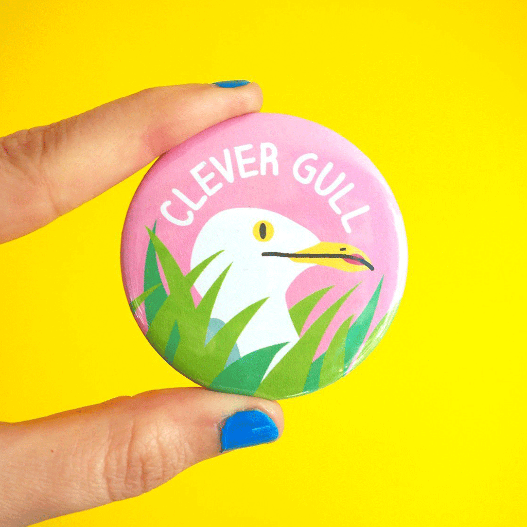 Clever Gull Badge - hello DODO