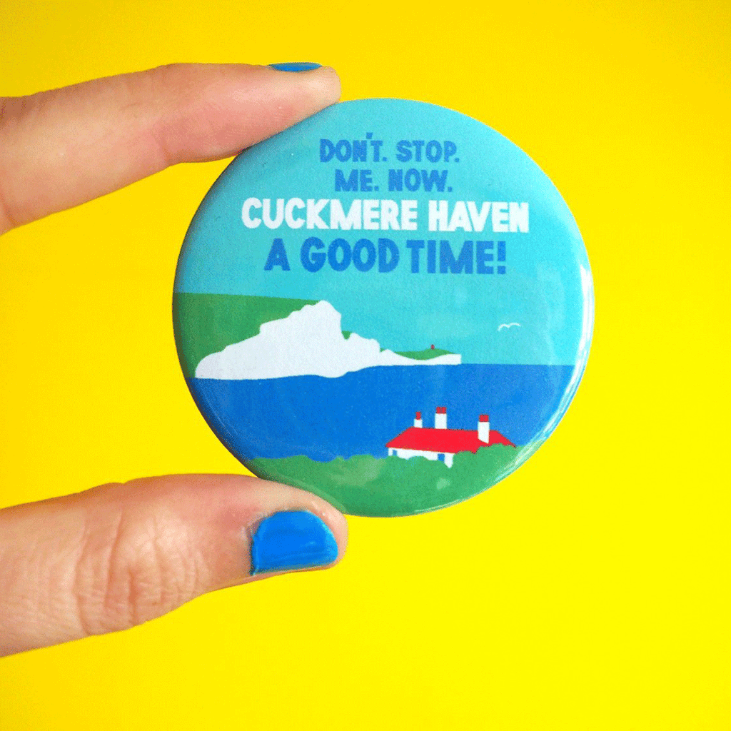 Cuckmere Haven Badge - hello DODO