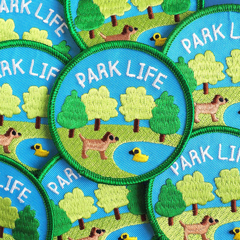 Park Life Iron On Patch - hello DODO