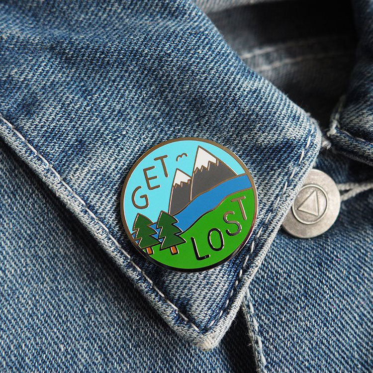 Get Lost Enamel Pin - hello DODO
