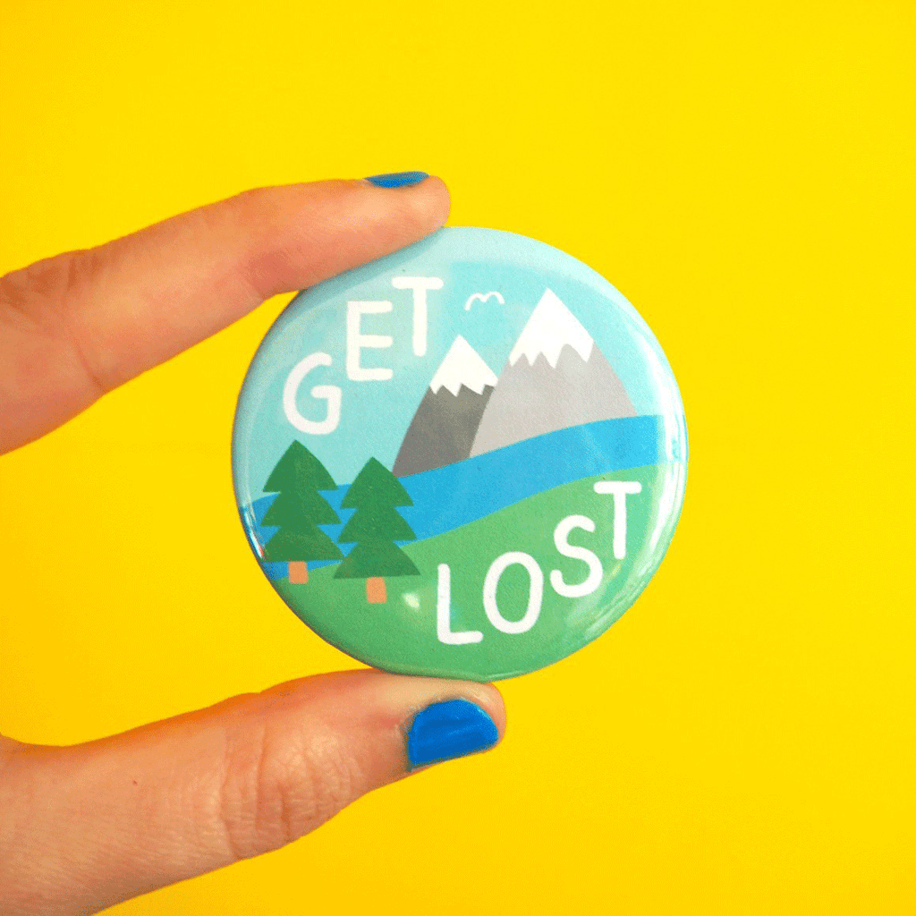 Get Lost Badge - hello DODO