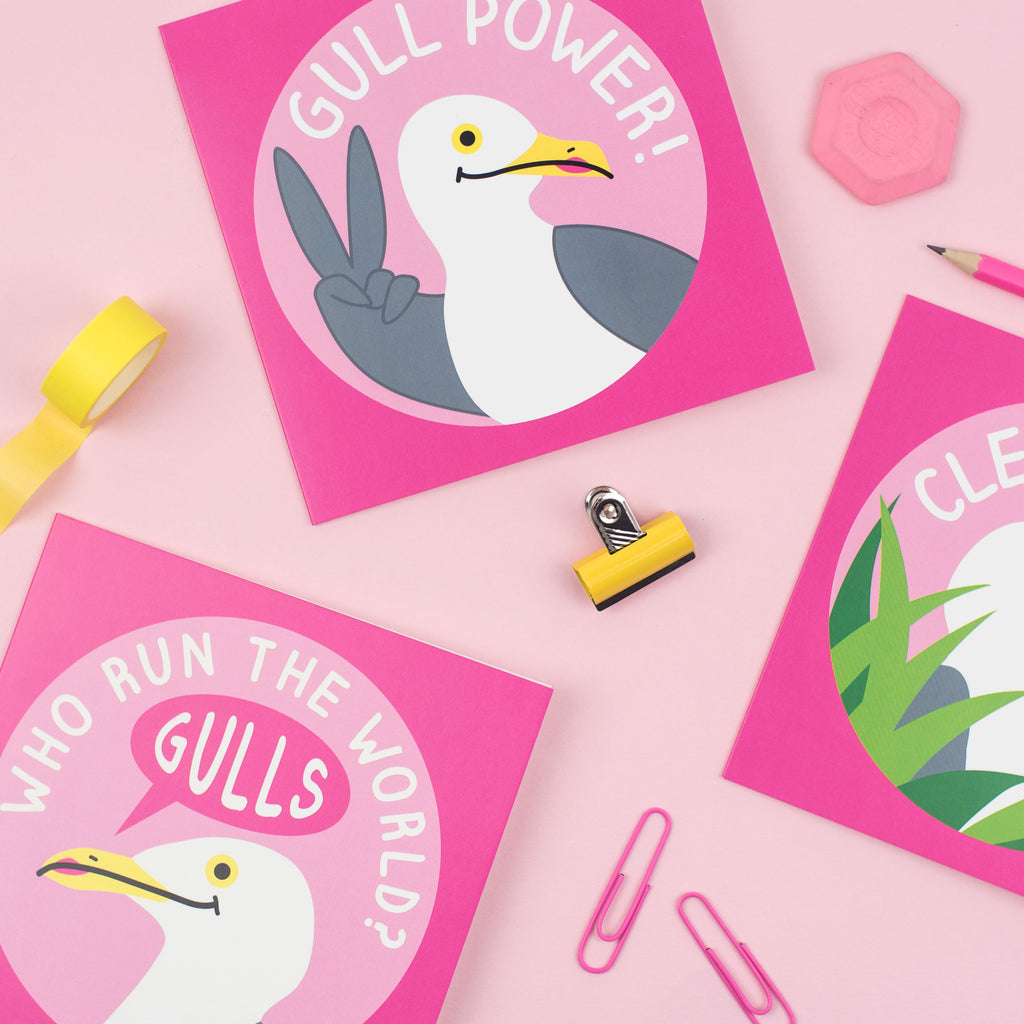 Gull Power Card - hello DODO