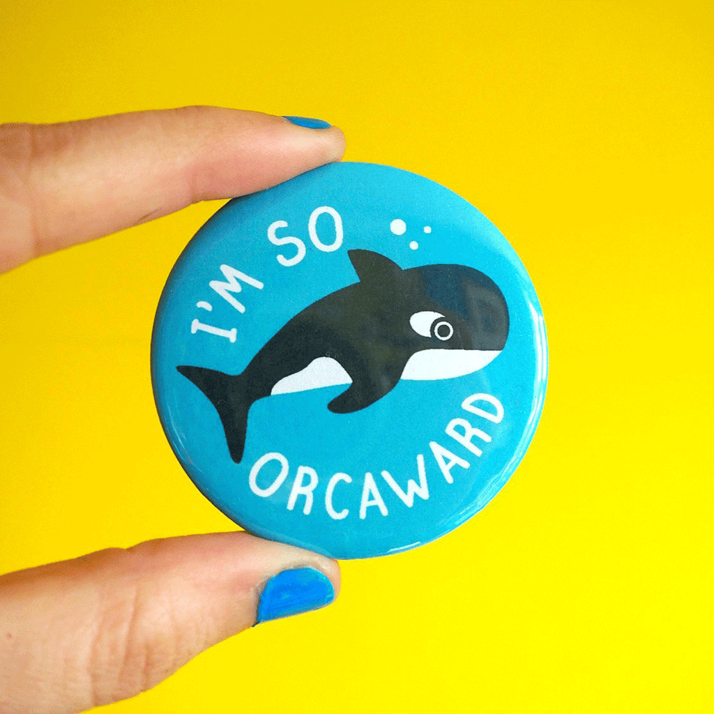 I'm So Orcaward Badge - hello DODO