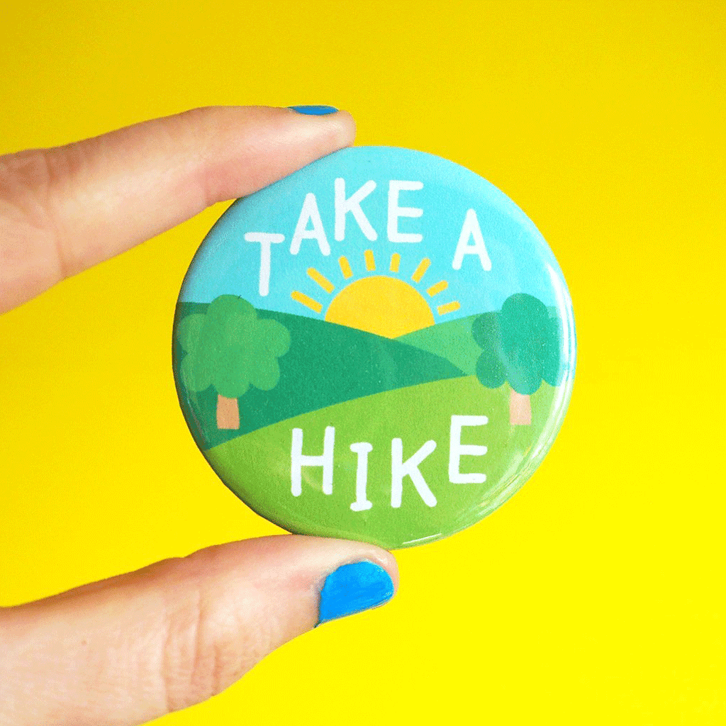 Take a Hike Badge - hello DODO