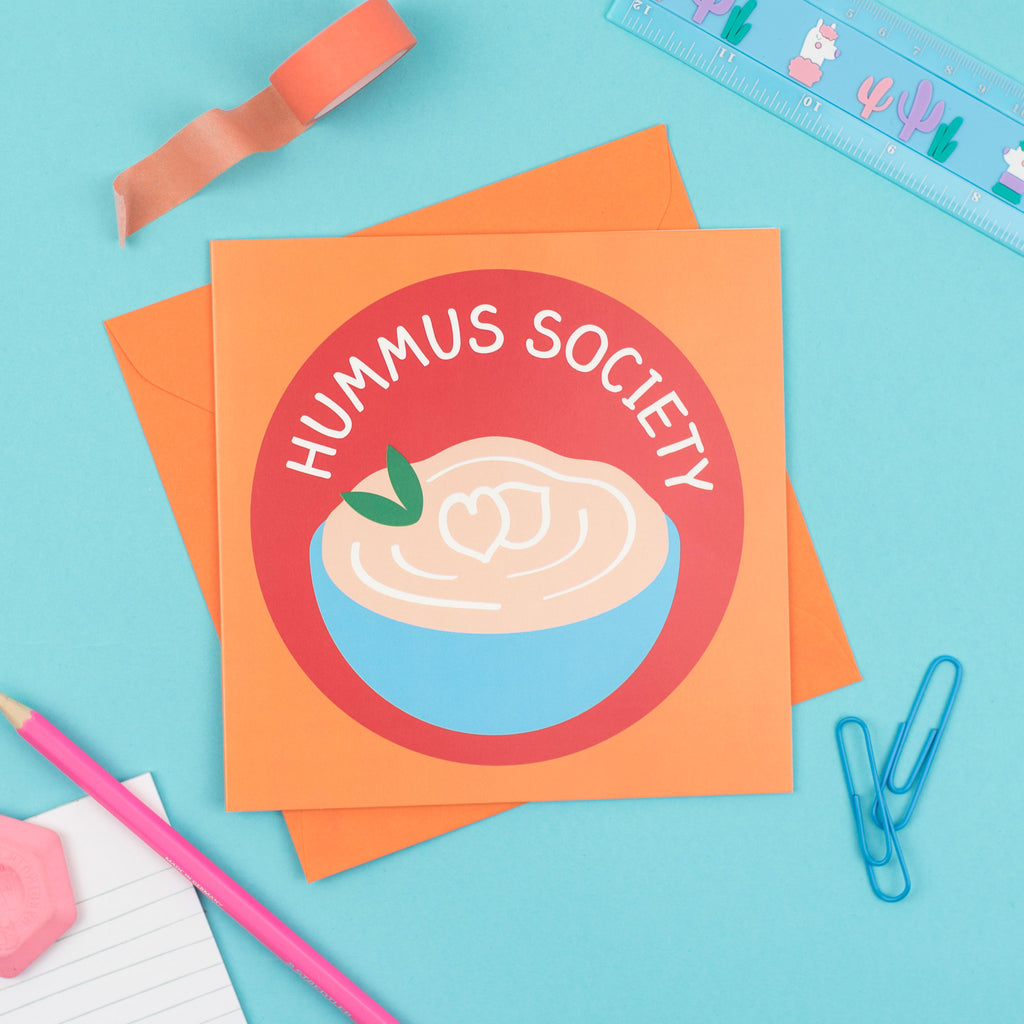 Hummus Society Card - hello DODO