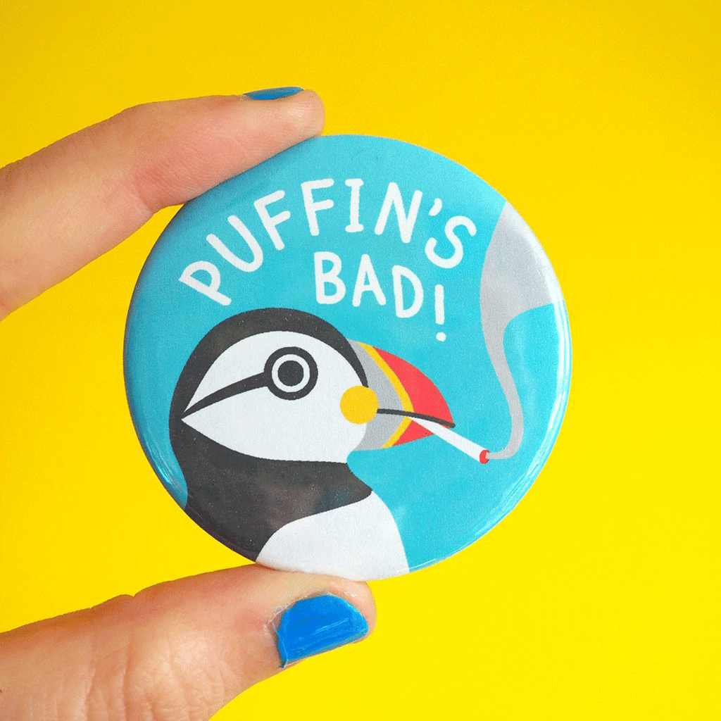 Puffin's Bad Badge - hello DODO