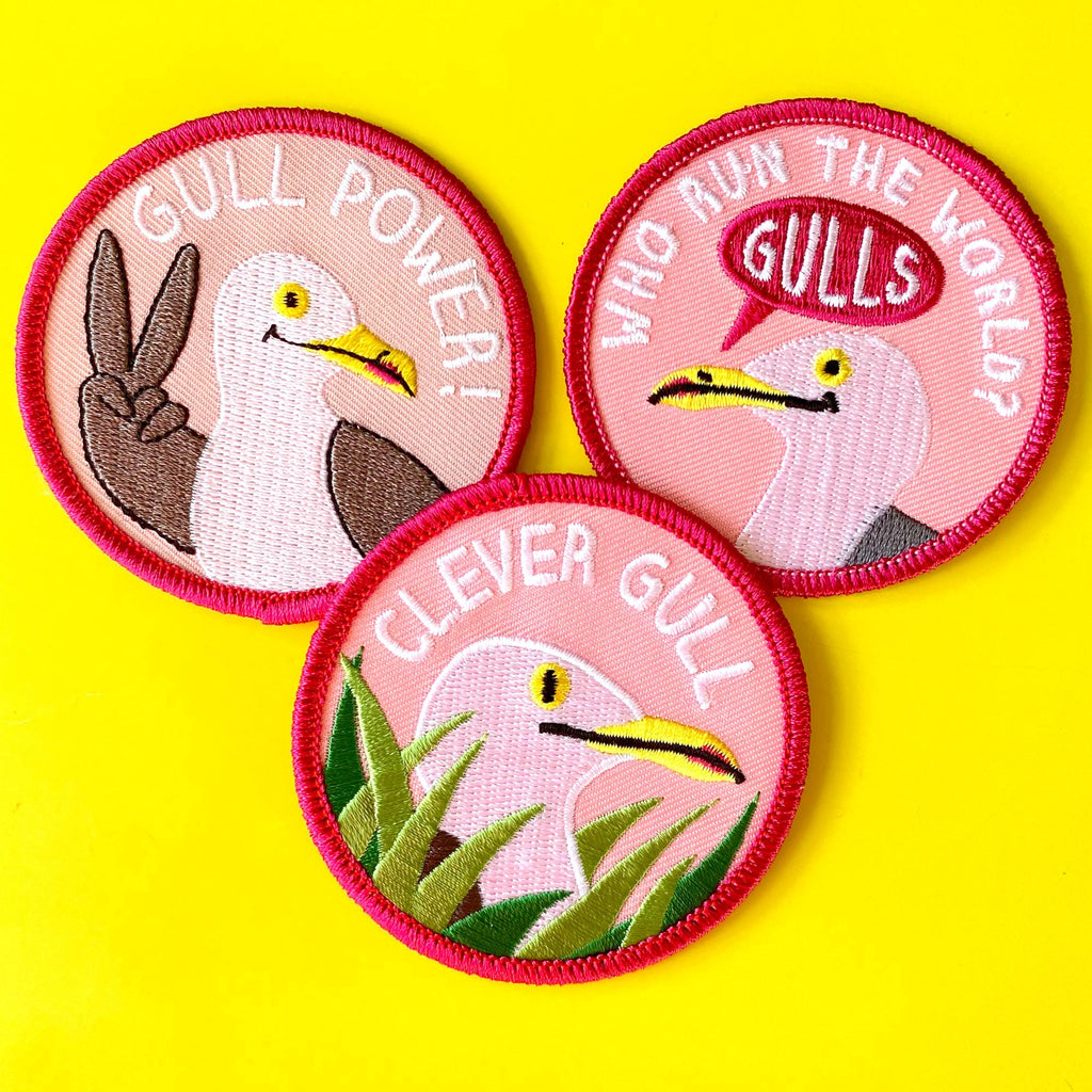MEGA GULL Patch And Pin Bundle - 5 AVAILABLE