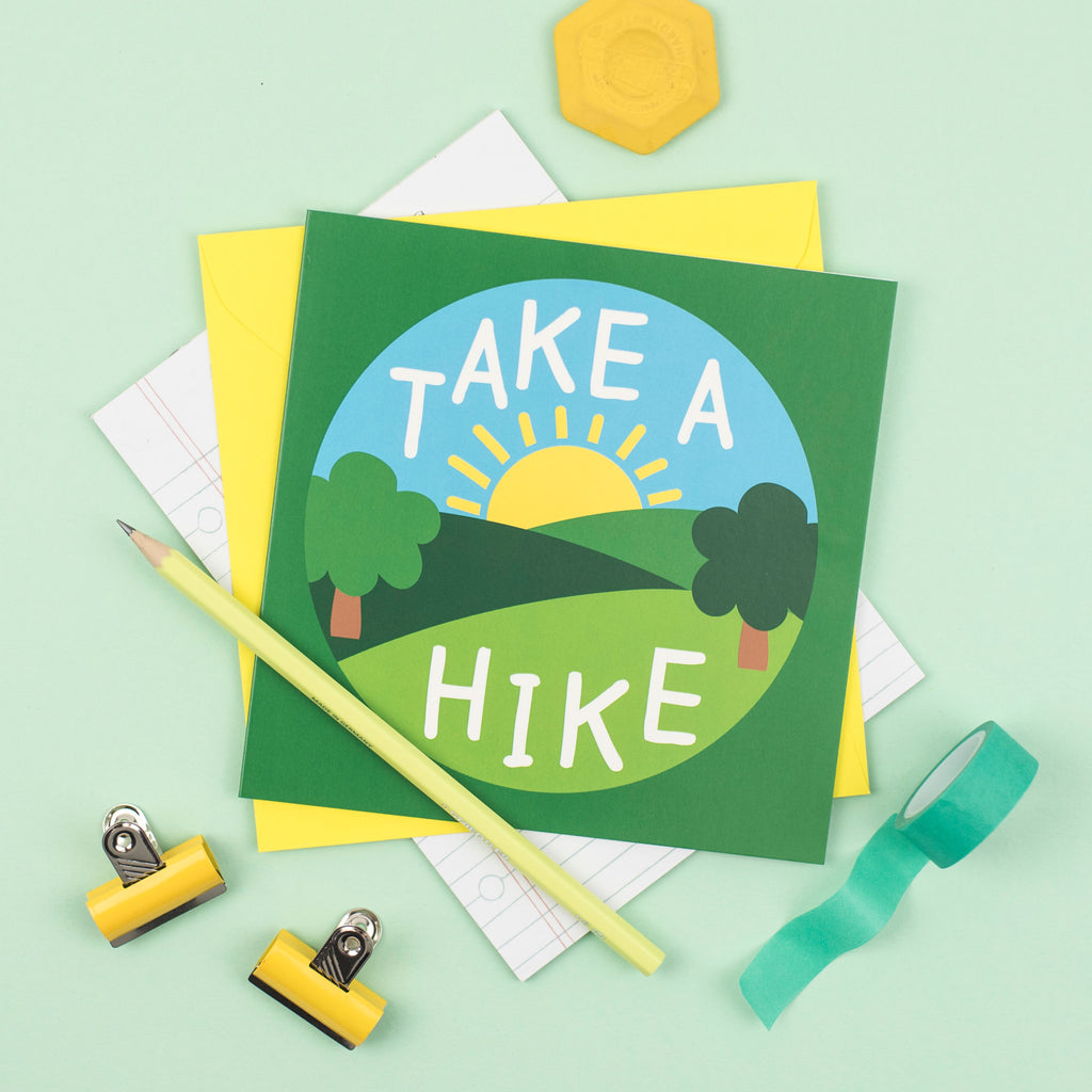 Take A Hike Card - hello DODO