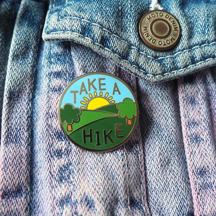 Take A Hike Enamel Pin - hello DODO