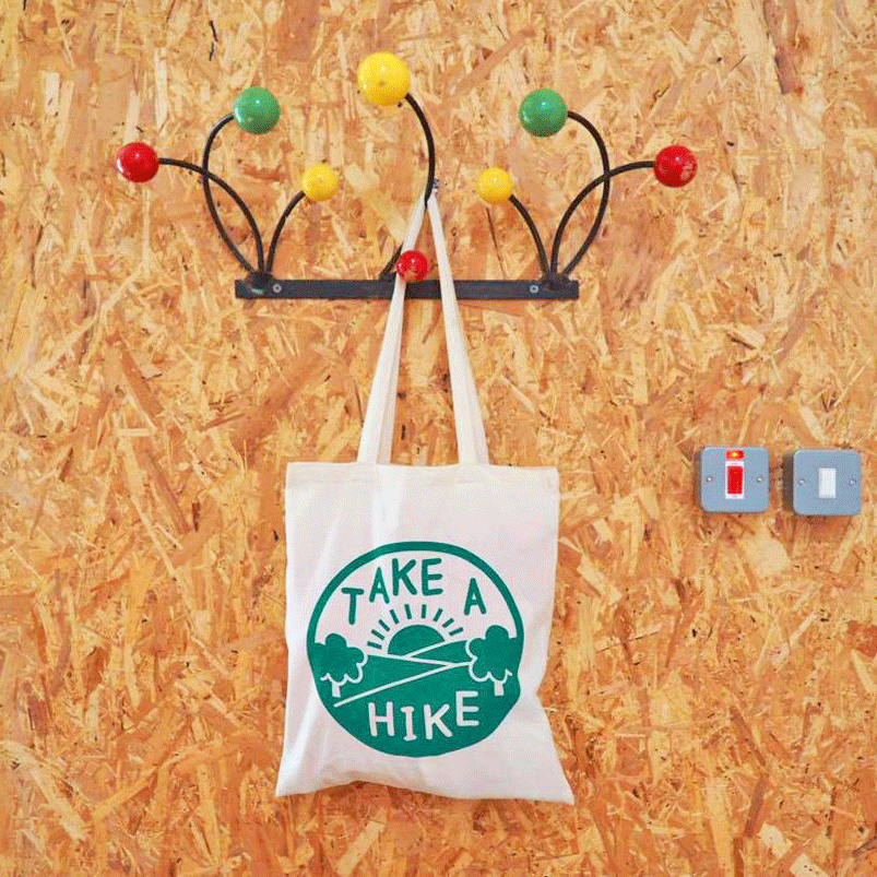 Take a Hike Tote Bag - hello DODO