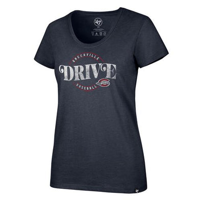 Greenville Drive 47 Brand Women's Navy Scoop Neck Club Tee