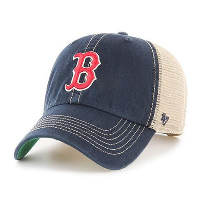 Boston Red Sox 47 Brand Navy Trawler Hat with Red B