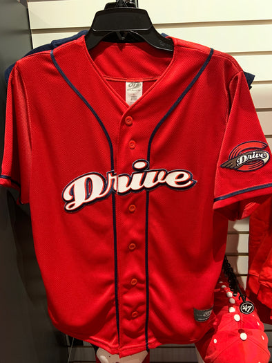 Greenville Drive OT Sports Youth Red Jersey