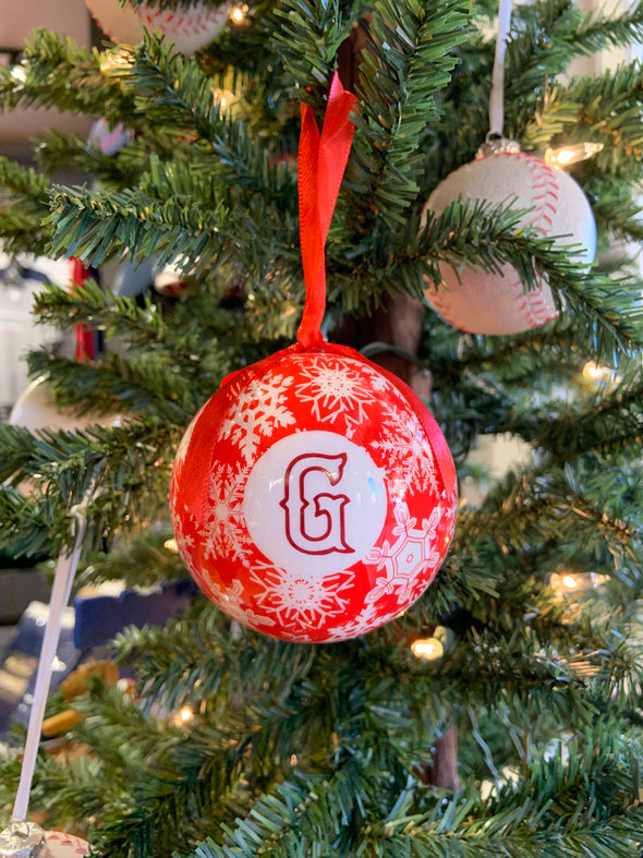 Greenville Drive Red Christmas Ornament