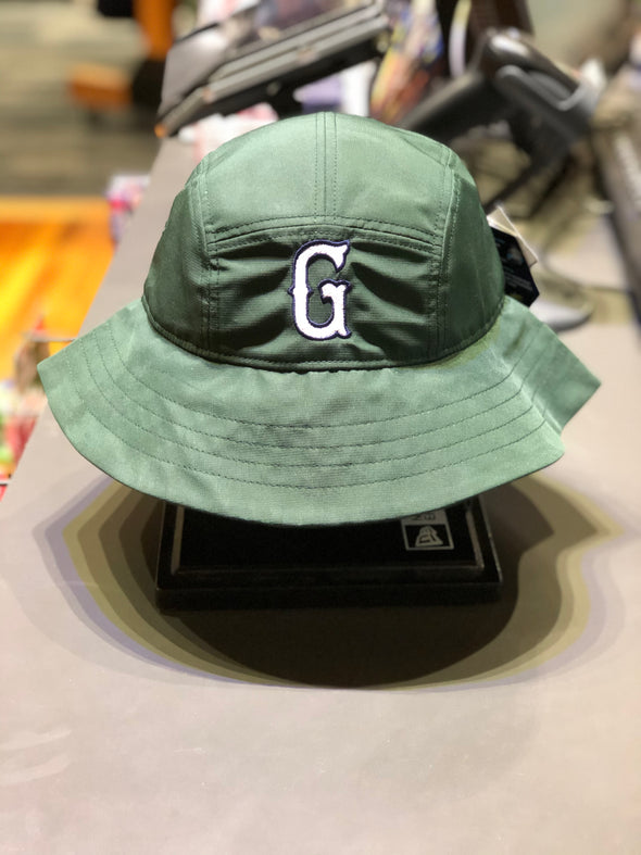 Greenville Drive OC Sport Green Bucket Hat with White G