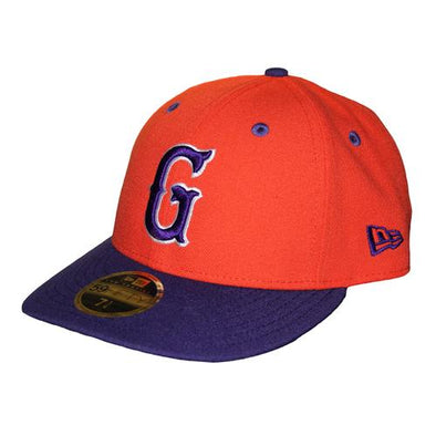 Greenville Drive New Era Clemson Orange On field Hat