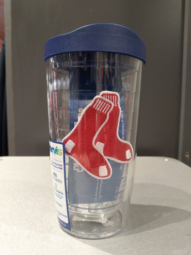 Boston Red Sox 16 oz Tervis Tumbler w/Socks Logo